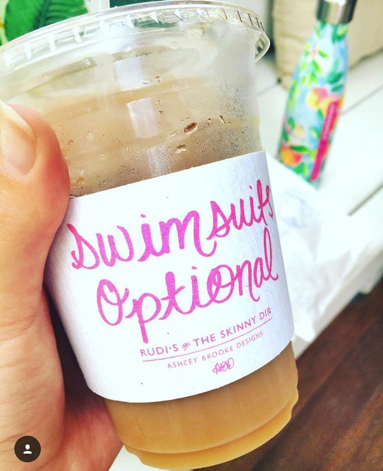 coconut milk iced latte for the win!