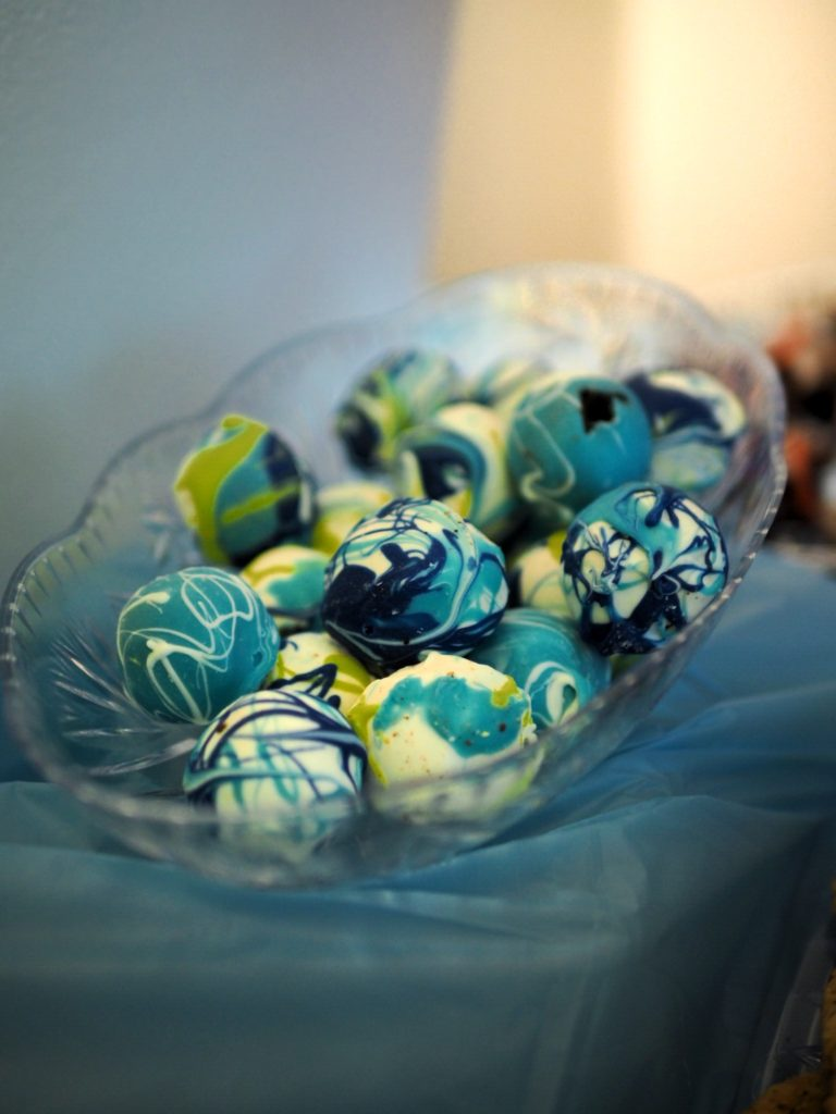 Tie-Dye Cake Balls for the win!!